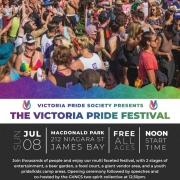 Victoria Pride Society - Victoria Pride Festival Poster 2018