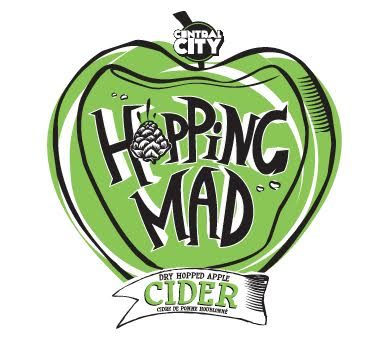 Central City Hopping Mad Cider - Victoria Pride Society Partner