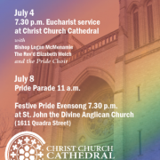 Pride Eucharist - Christ Church Cathedral
