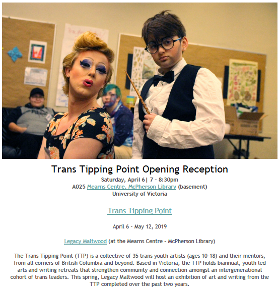 Trans Tipping Point Gallery Opening