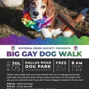 Victoria Pride Society - Big Gay Dog Walk 2019