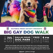 Victoria Pride Society - Big Gay Dog Walk 2020
